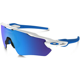 Oakley Radar EV XS Path Zonnebril Jongeren, polished white/sapphire iridium